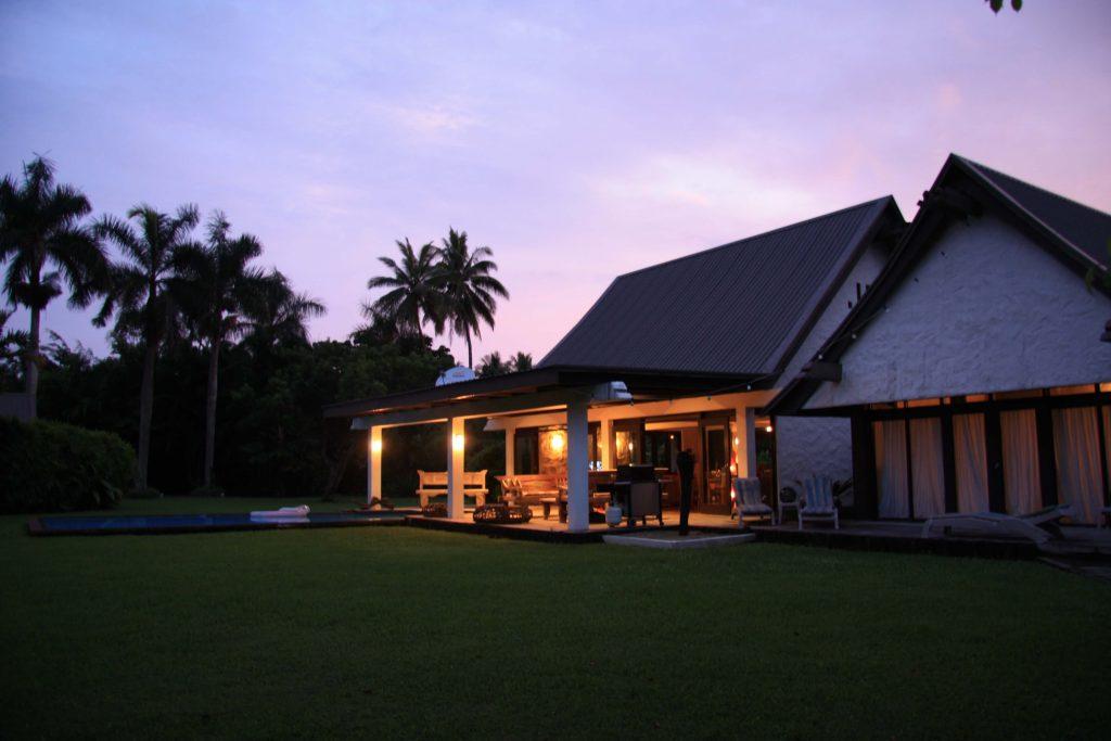 Villa aux Fidji